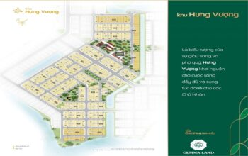 Bảng Giá Khu Hưng Vượng dự án Biên Hoà New City Tháng 05/2021