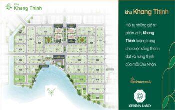 Bảng Giá Khu Khang Thịnh dự án Biên Hoà New City Tháng 05/2021