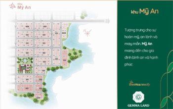 Bảng Giá Khu Mỹ An dự án Biên Hoà New City Tháng 05/2021