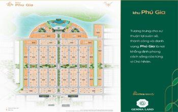 Bảng Giá Khu Phú Gia dự án Biên Hoà New City Tháng 05/2021